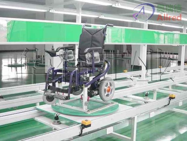 轮椅生产线