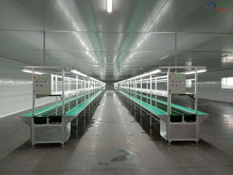 皮带传送生产线
